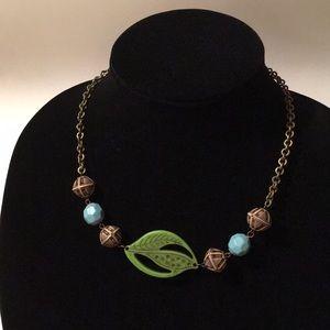 Boho Leaf Necklace